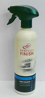 Turtle Wax Perfect Finish Insect Bug Remover Cleaner x 6 (500 ML) Spray Bottle