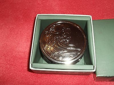 Past Times Pewter Art Nouveau Anthea Lady Paperweight Boxed