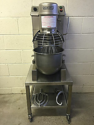 Hobart HSM20 Planetary Food Mixer With Bowl, Whisk, Paddle, Dough Hook & Stand