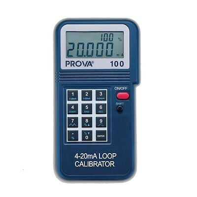 TES Prova-100 Loop Calibrator Features a Basic Accuracy of 0.025%