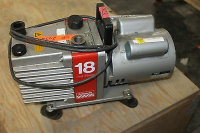 Working Edwards 18 Vacuum Pump E1M18 Working
