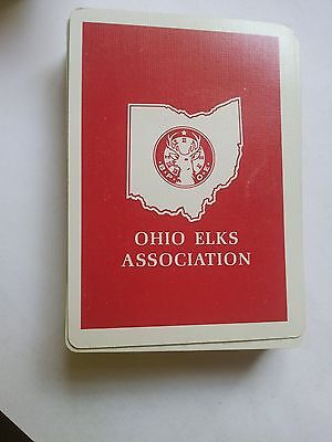 Vintage Ohio Elks Association Playing Cards Full Deck