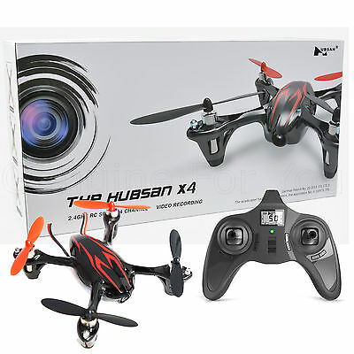 The Hubsan X4 2.4Ghz 4 Channel RC Mini Micro Drone Quadcopter Video Camera Toy