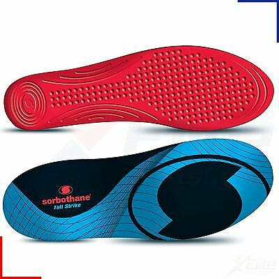 Sorbothane Full Strike Insoles Foot Care Impact Shock Stopper Cushion Orthotic