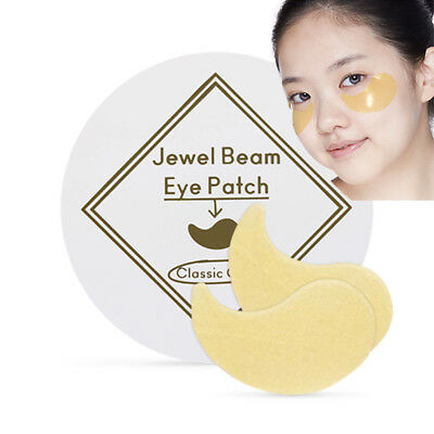 [ETUDE HOUSE] 24K Gold Therapy Collagen Eye Patch (Fantastic Gold Collagen Mask)