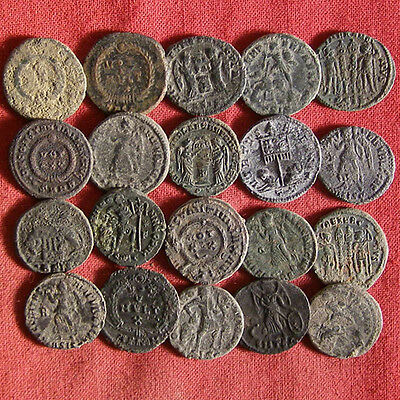 Lot of 20 AE3 Late Roman Coin #3