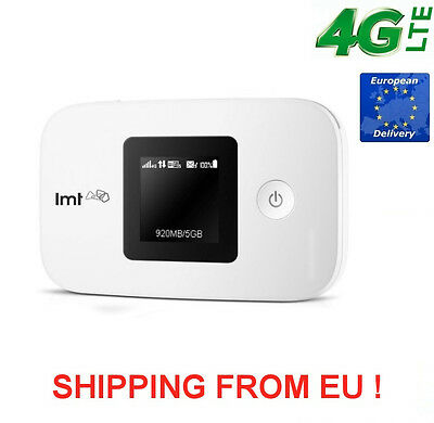 Neues Huawei E5377  4G LTE  WiFi Hotspot Router bis 150 Mbits