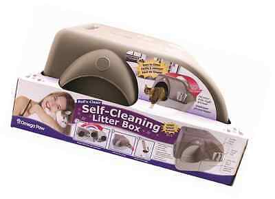 Omega Paw Roll'n Clean Self Cleaning Litter Box Large