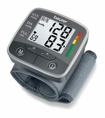 Beurer BC32 Wrist Blood Pressure Heart Rate Beat Monitor