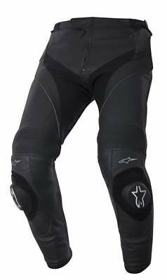 Alpinestars Missile Black Leather Motorcycle Pants, NEW!