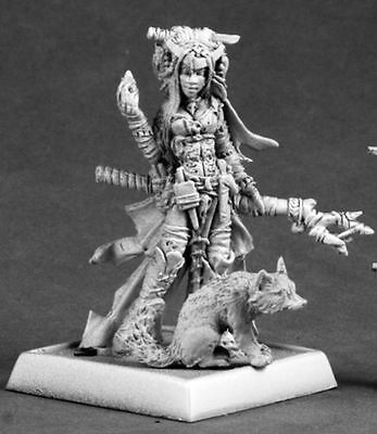 FEIYA ICONIC WITCH - PATHFINDER REAPER miniature figurine rpg jdr sorciere 60048