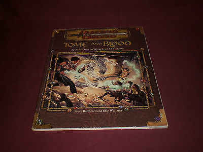 WOTC Dungeons & Dragons Tome And Blood D&D AD&D Book