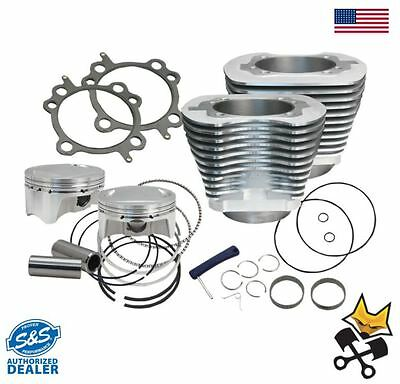 """S&s 106"""" Big Bore Cylinder & Piston Kit For Harley 2007-Up Twin Cam - 910-0202"""