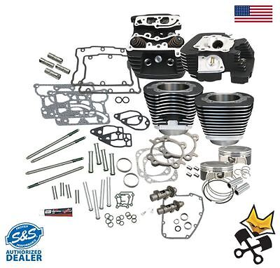 "S&s 106"" Hot Set Up Kit W/ Heads For 2007-Up Harley Twin Cam & '06 Dyna 900-0352"