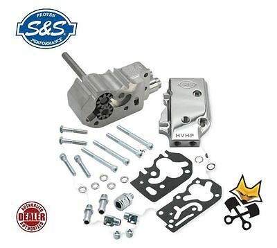 S&s Hvhp High Volume Billet Oil Pump Kit For Harley 84-91 Evo 31-6214