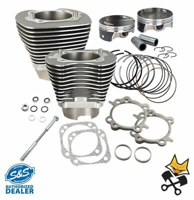 """S&s 117"""" Hc Cylinder & Piston Kit Harley 06 Dyna & 07-Up Twin Cam Gray 910-0474"""