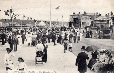 Louis Levy Card, The Parade, Cowes, Isle of Wight