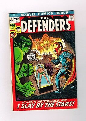 DEFENDERS #1 First issue! Bronze Age classic from Marvel! Grade 7.0!!