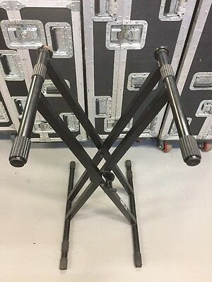 Quik Lok Double Braced Keyboard Stand *Slightly Used*
