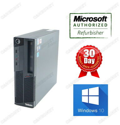 Lenovo Thinkcentre M90P 5864 SFF Desktop i5 3.2Ghz 4G 250G DVD W10P 90 Warranty