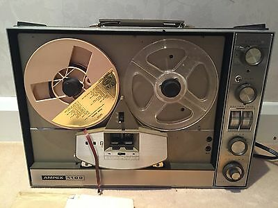 AMPEX vintage Tape Recorder 1100 series model 1163 working when last used