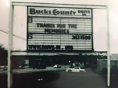 """Dvd """"Remembering the Bucks County Drive-In"""" 30min documentary"""