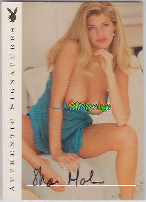 "2000 Playboy's Centerfolds Of The Century Auto: Shae Marks -Autograph ""baywatch"""