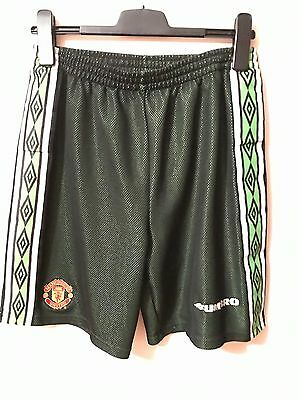 manchester united goalkeeper shorts 1998-99