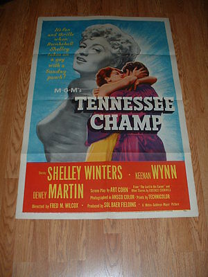 Tennessee Champ-Winters-1954-One Sheet