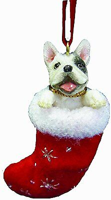 WEIMARANER in Stocking Christmas Ornament-Santa/'s Little Pals-by E/&S Pets