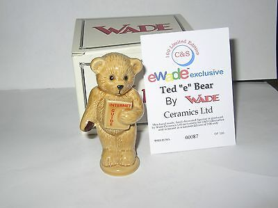 """Nice """" Ewade Ted,e.internet Guide"""" Special Edition, 2001, Box& Certificate."""