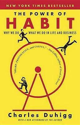 NEW The Power of Habit By Charles Duhigg Paperback Free Shipping