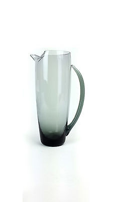 "1950s Morgantown ""Normandie"" Smoke Glass 40 oz. Martini Pitcher"