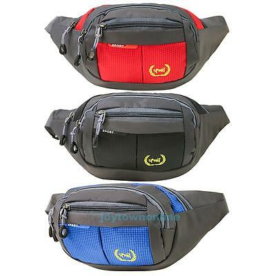 Waterproof Running Belt Bum Waist Pouch Hip Bag Camping Sport Bag Phone Holder