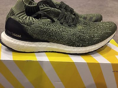 "Adidas Ultra Boost ""Olive Uncaged"" SIZE 8.5"