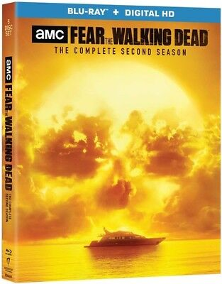 Fear the Walking Dead: The Complete Second Season [New Blu-ray] Boxed Set, UV/
