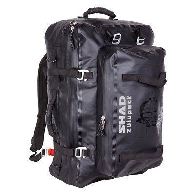Shad Zulu Pack Waterproof Back Pack Motorcycle / Atv Rear Bag 55L