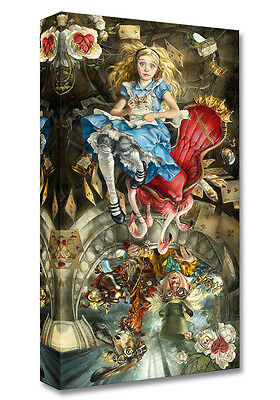We're All Mad Here- Heather Theurer -Treasure On Canvas Disney Fine Art