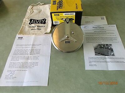 Alvey 600A3M2 - Cedar Sidecast Fishing Reel 'Limited Edition' No# 79of100'