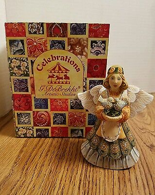 G. DeBrekht ANNIVERSARY ANGEL #57611-4 2005 With box and paperwork #F