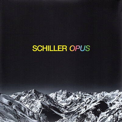 Schiller - Opus (2× Vinyl, LP, Limited, Numbered, Pink/Yellow Coloured Transpare