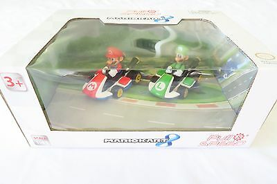 Carrera Mariokart 8 Pull Speed 1:43 Scale Mario & Luigi Cars Nib  Fast/free Ship