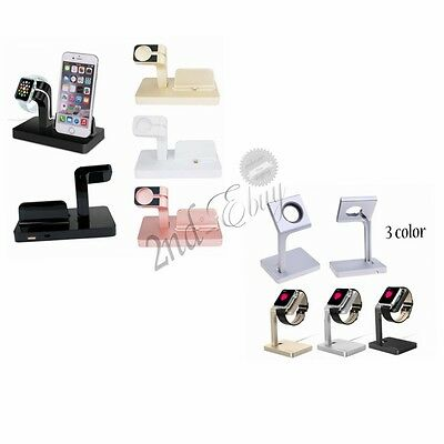 Dock Stand Bracket Accessories Charging Holder Kit For Apple Watch iPhone iwatch
