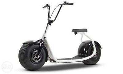 2017 Electric Scooter - Fat Tyre Harley Style - Brand New Version Rrp £2500!