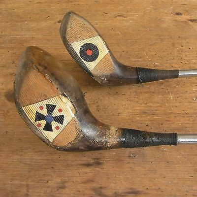Quality Vintage Golf Club Set/ Spalding - Robert Forgan And More With Carry Bag