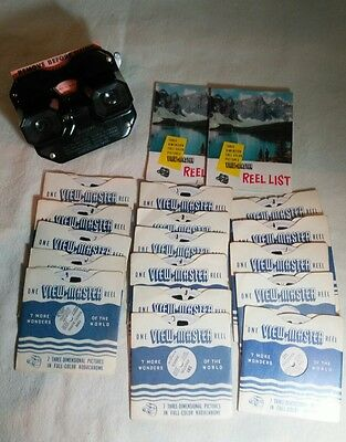 Vintage Sawyer's View Master with 16 Reels