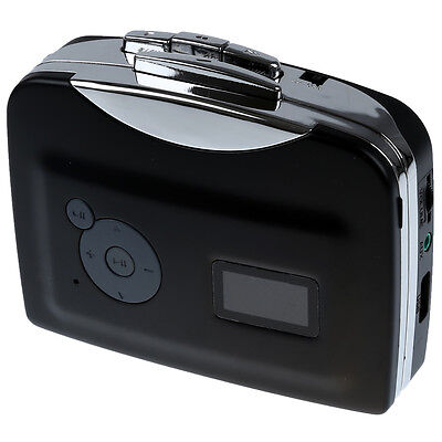 03Q4 Portable USB Cassette-to-MP3 Converter Capture directly to USB Flash Disc w