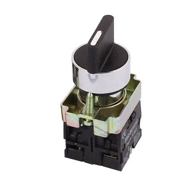 3 Position Rotary Select Selector Switch Self-locking 2 NO ZB2-BE101C