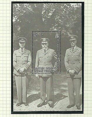 British Indian Ocean Territory Sgms384 90Th Anniv Of The Raf  M/s Mnh