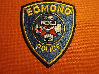 Collectible Oklahoma Police Patch Edmond New